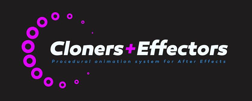 دانلود و آموزش اسکریپت Cloners + Effectors در افتر افکت