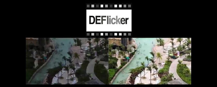 دانلود و آموزش پلاگین DEFlicker در افتر افکت