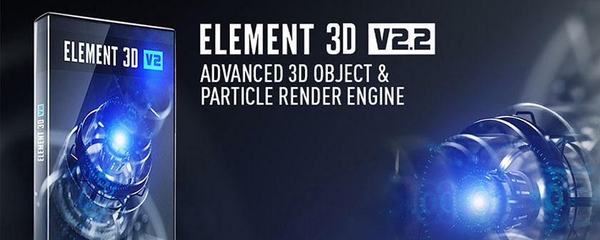 دانلود پلاگین Element 3D برای افتر افکت