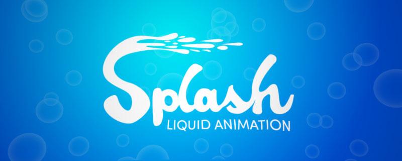 دانلود اسکریپت Splash در افتر افکت