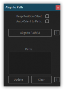 تست کرک اسکریپت Align To Path در افتر افکت