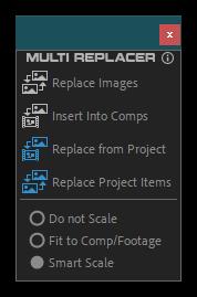 تست کرک اسکریپت Multi Replacer در افتر افکت