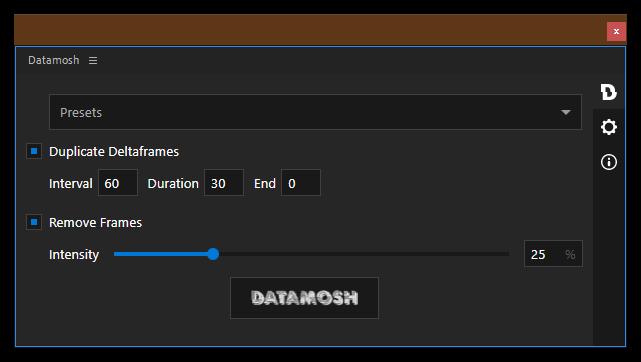 تست کرک اسکریپت Datamosh