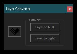 تست اسکریپت Layer Converter در افتر افکت