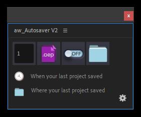 تست اسکریپت aw-Autosaver در افتر افکت