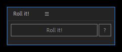 تست کرک اسکریپت Roll it! در افتر افکت