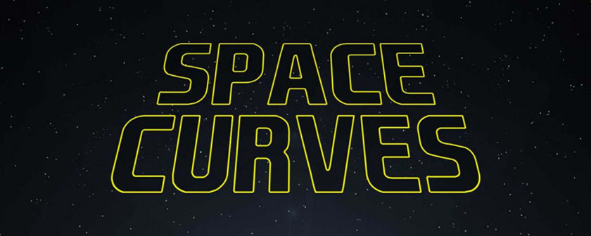 دانلود اسکریپت Space Curves برای افتر افکت