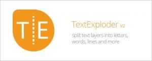 دانلود اسکریپت TextExploder برای افتر افکت