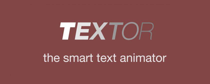 دانلود اسکریپت Textor برای انیمیت نوشته در افتر افکت