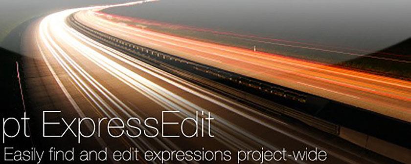 دانلود اسکریپت pt_ExpressEdit برای افتر افکت