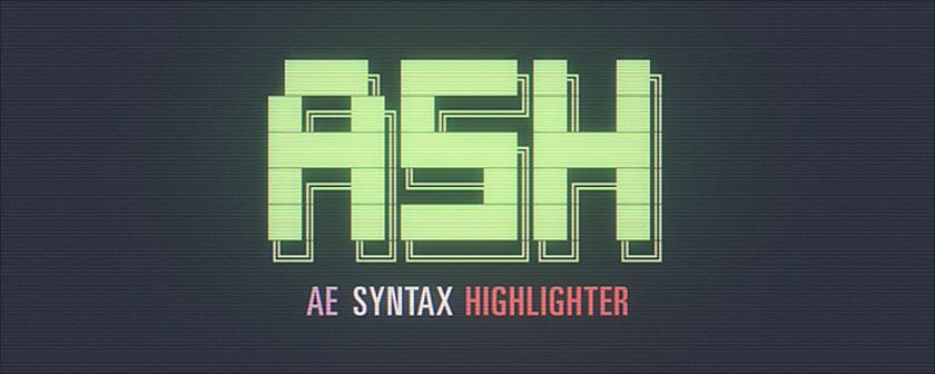 دانلود اسکریپت ASH Syntax Highlighter همراه با کرک