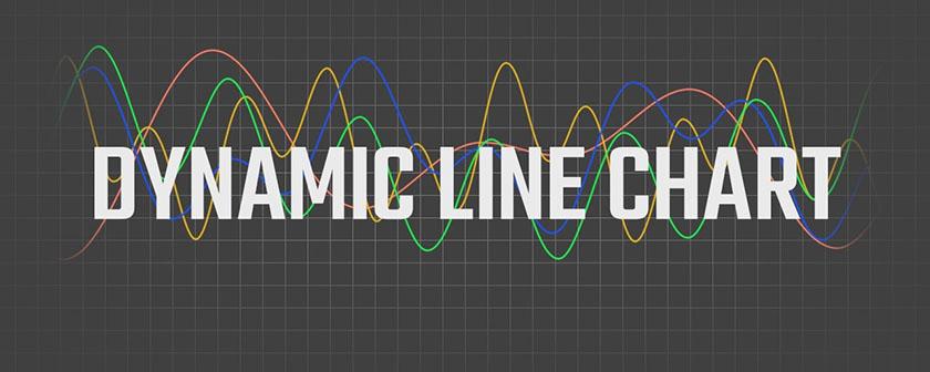 دانلود پلاگین Dynamic Line Chart در افتر افکت