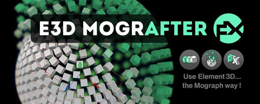 دانلود اسکریپت E3D Mografter FX در افتر افکت