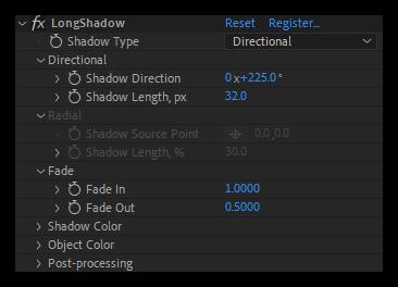 تست کرک پلاگین LongShadow در افتر افکت