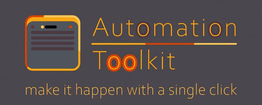 دانلود اسکریپت Automation Toolkit برای افتر افکت