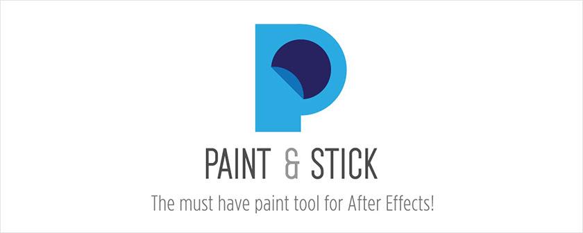 دانلود پلاگین Paint & Stick برای افتر افکت