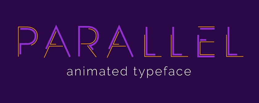 دانلود اسکریپت Parallel Animated Typeface برای افتر افکت