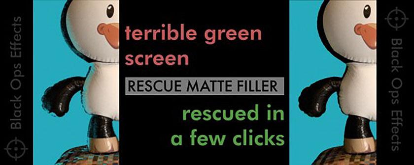 دانلود پلاگین Rescue Matte Filler برای افتر افکت