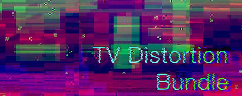 دانلود مجموعه پلاگین های TV Distortion Bundle