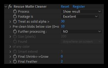 تست کرک پلاگین Rescue Matte Cleaner در افتر افکت