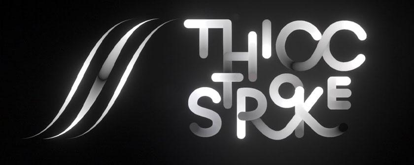 دانلود پلاگین Thicc Stroke برای افتر افکت