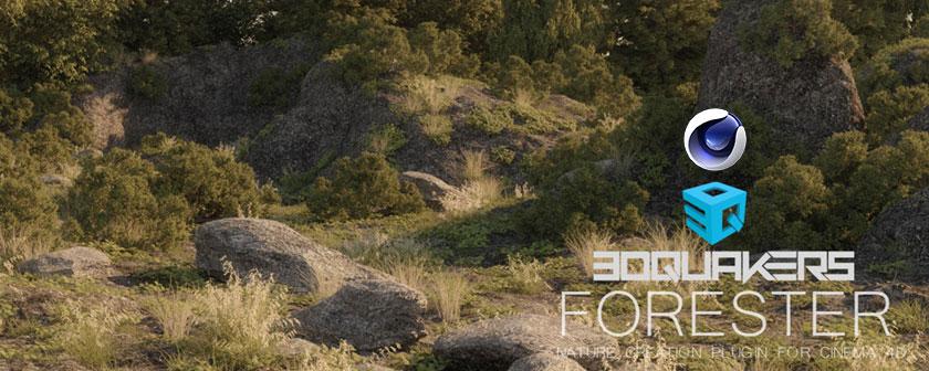 دانلود اسکریپت Forester C4D برای Cinema 4d