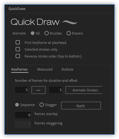تست کرک اسکریپت Quick Draw در افتر افکت