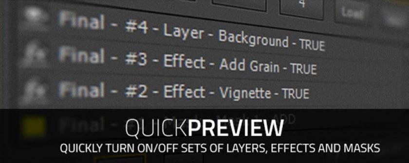 دانلود اسکریپت Quick Preview برای افتر افکت
