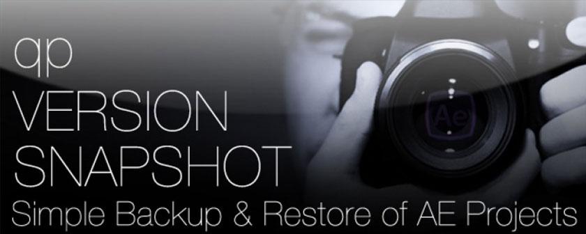 دانلود اسکریپت Snapshot برای افتر افکت