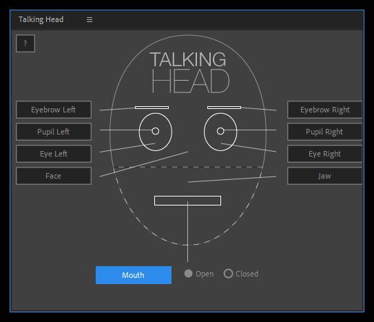 تست کرک اسکریپت Talking Head در افتر افکت