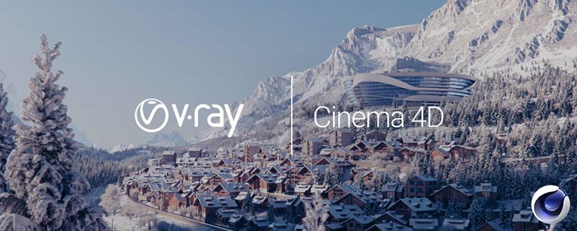 دانلود پلاگین Vray ADV برای نرم افزار Cinema 4d