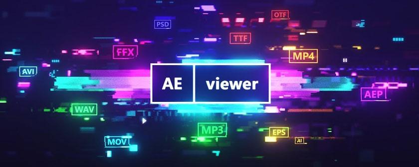 دانلود اسکریپت AEViewer برای نرم افزار افتر افکت