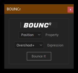 کرک اسکریپت BOUNCr در افتر افکت