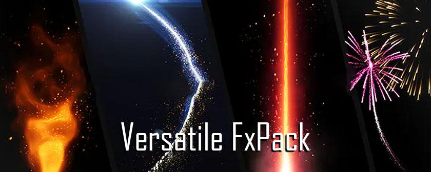 دانلود اسکریپت جلوه های ویژه Versatile FxPack برای افتر افکت