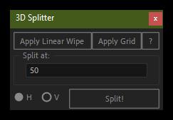 تست کرک اسکریپت 3D Splitter در افتر افکت