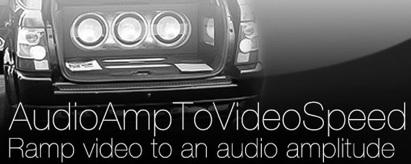 دانلود اسکریپت AudioAmpToVideoSpeed برای نرم افزار افتر افکت