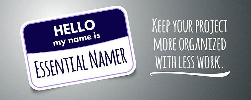 دانلود اسکریپت Essential Namer برای نرم افزار افتر افکت