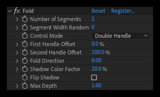 تست کرک پلاگین Fold برای نرم افزار After Effects