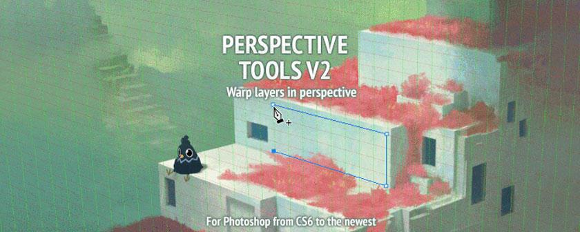 دانلود پلاگین PerspectiveTools همراه با کرک برای فتوشاپ