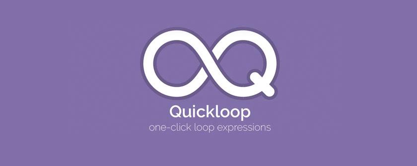 دانلود اسکریپت Quickloop برای نرم افزار افتر افکت