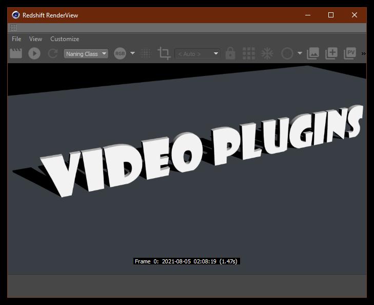 تست کرک پلاگین Redshift C4D در نرم افزار Cinema 4d