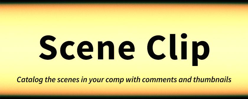 دانلود اسکریپت Scene Clip برای نرم افزار افتر افکت