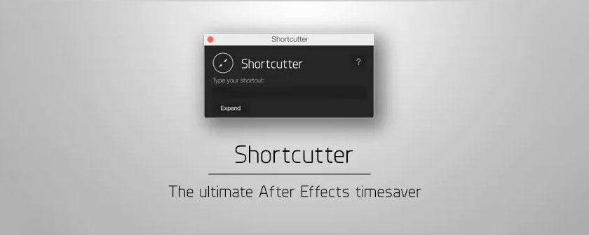 دانلود اسکریپت Shortcutter برای After Effects