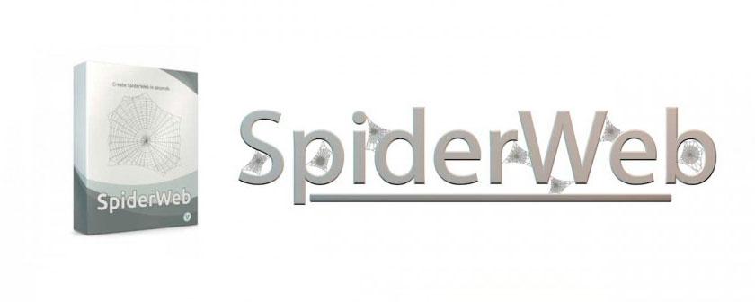 دانلود پلاگین SpiderWeb برای نرم افزار Cinema 4d