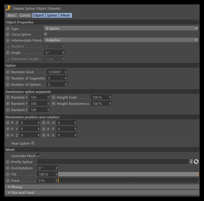 تست کرک پلاگین Umami C4D در نرم افزار Cinema 4d