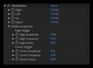تست کرک پریست WobbleBox در نرم افزار افتر افکت