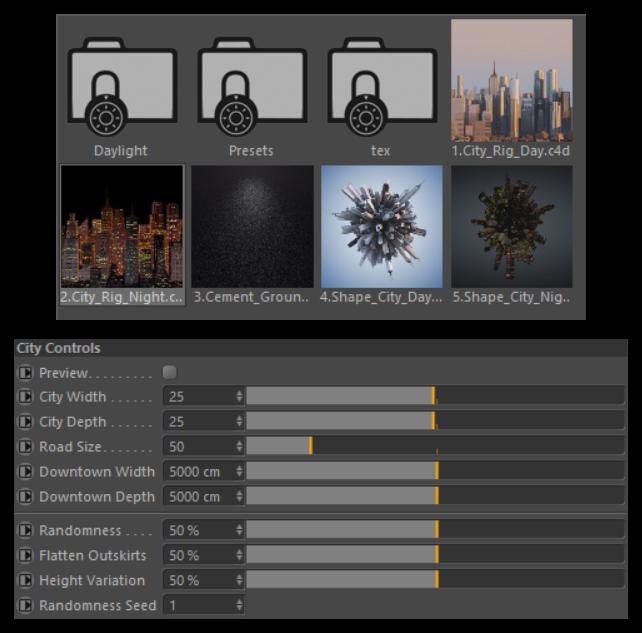 تست کرک پلاگین City Kit برای نرم افزار Cinema 4d
