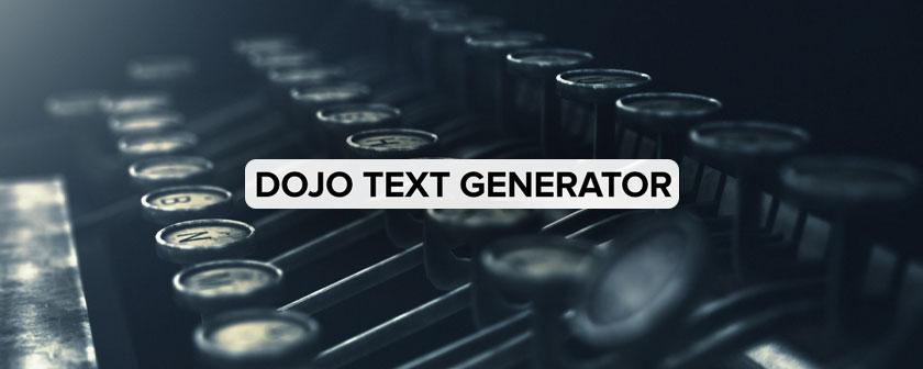 دانلود اسکریپت Dojo Text Generator برای نرم افزار After Effects