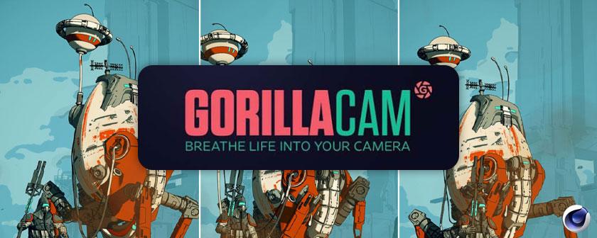 دانلود پلاگین GorillaCam برای نرم افزار Cinema 4d