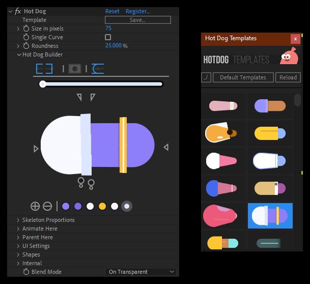 تست کرک پلاگین Hot Dog برای نرم افزار After Effects